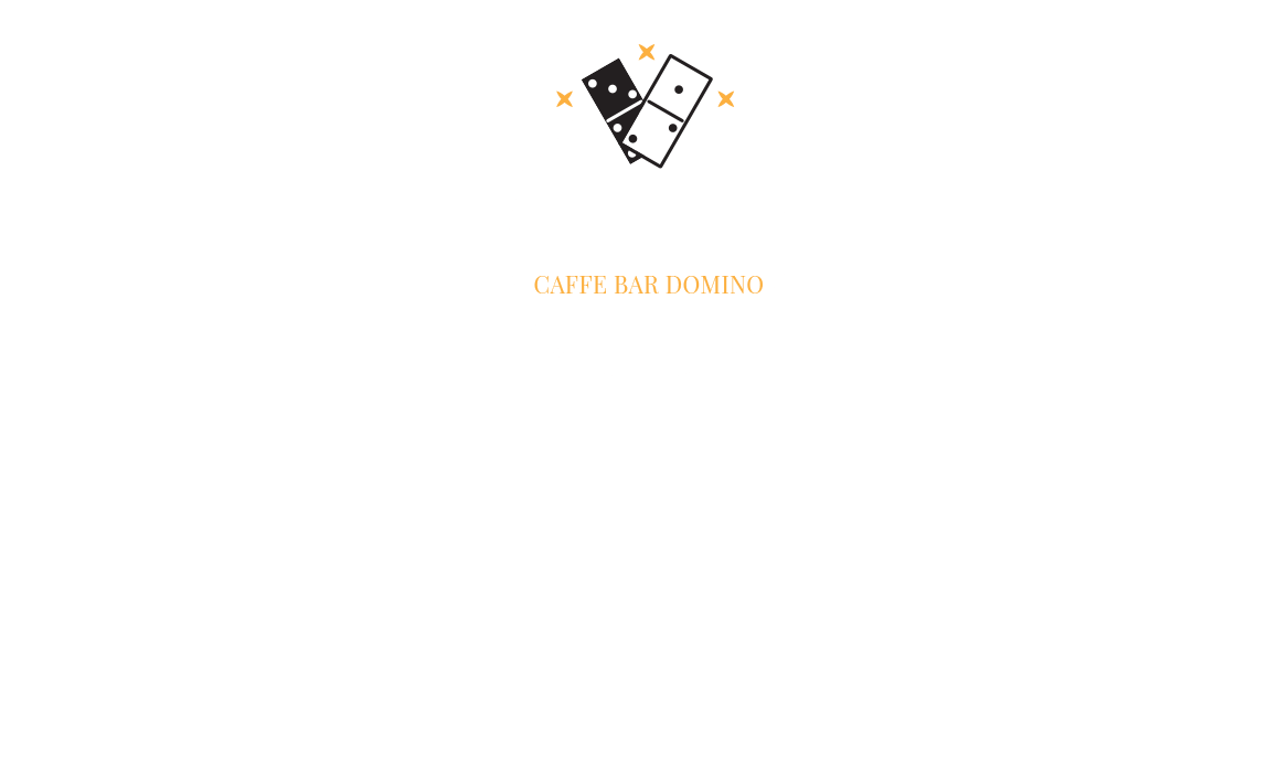 Caffe bar Domino Logo dizajn