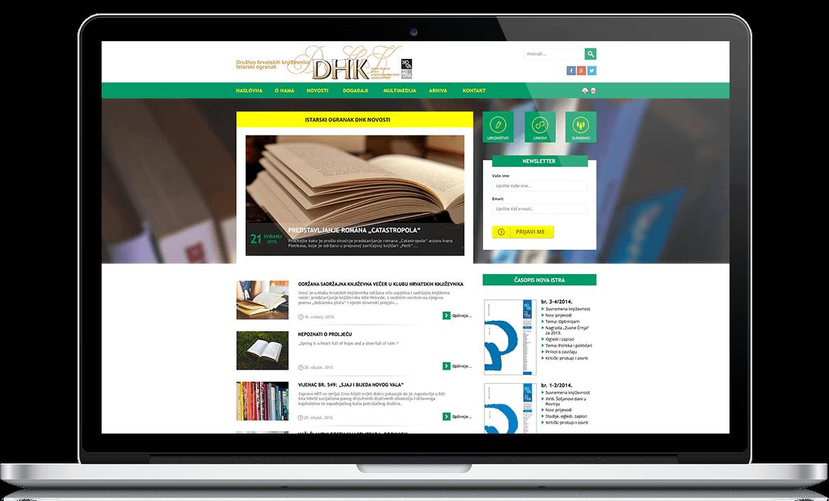 IO DHK Web stranica