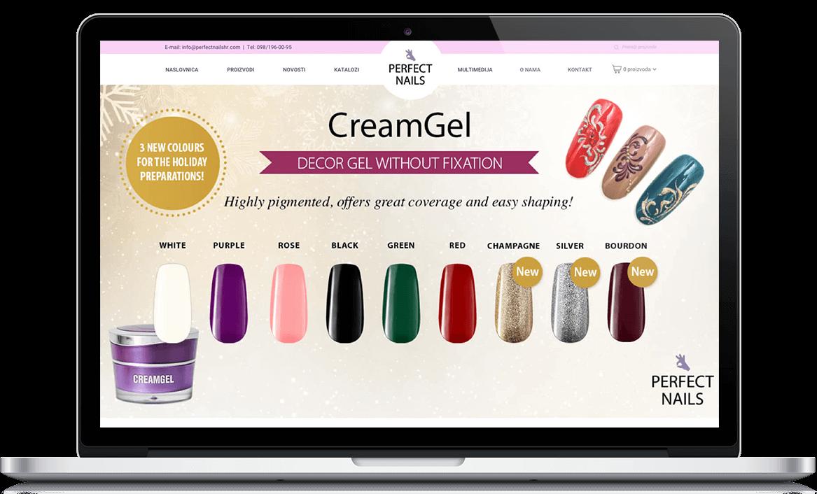 Perfect nails webshop