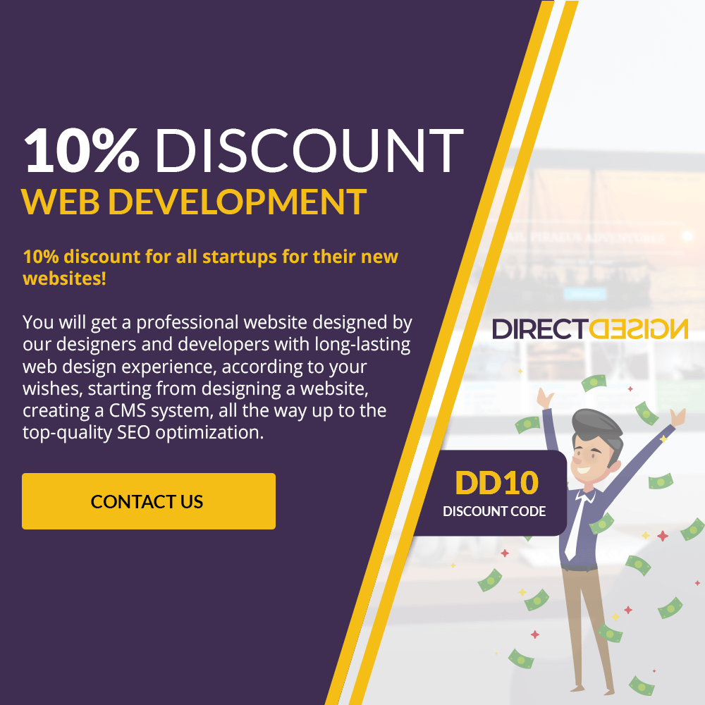 10% DISCOUNT FOR NEW COMPANIES