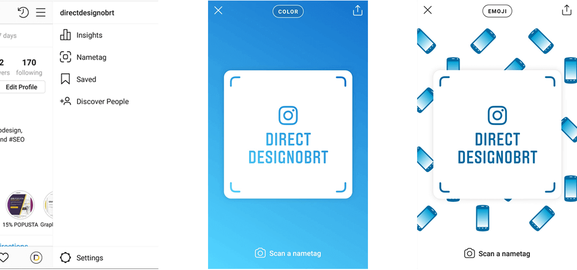 Nametag - novi način povezivanja na Instagramu