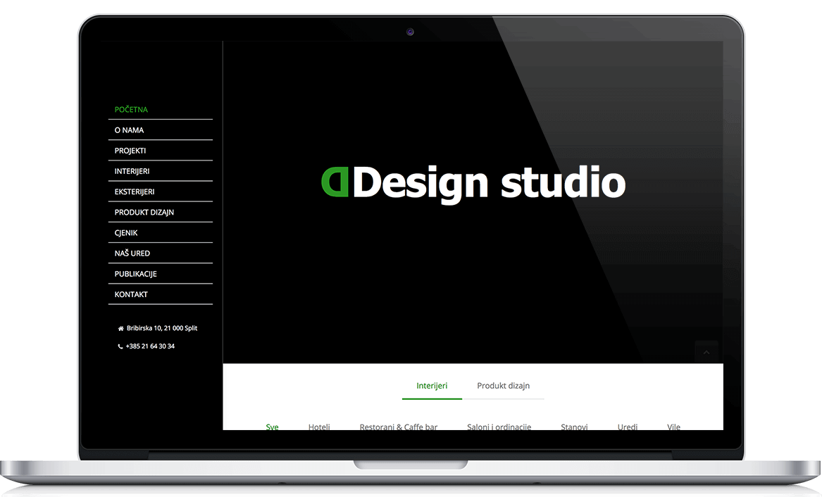 DDesign Studio Web stranica