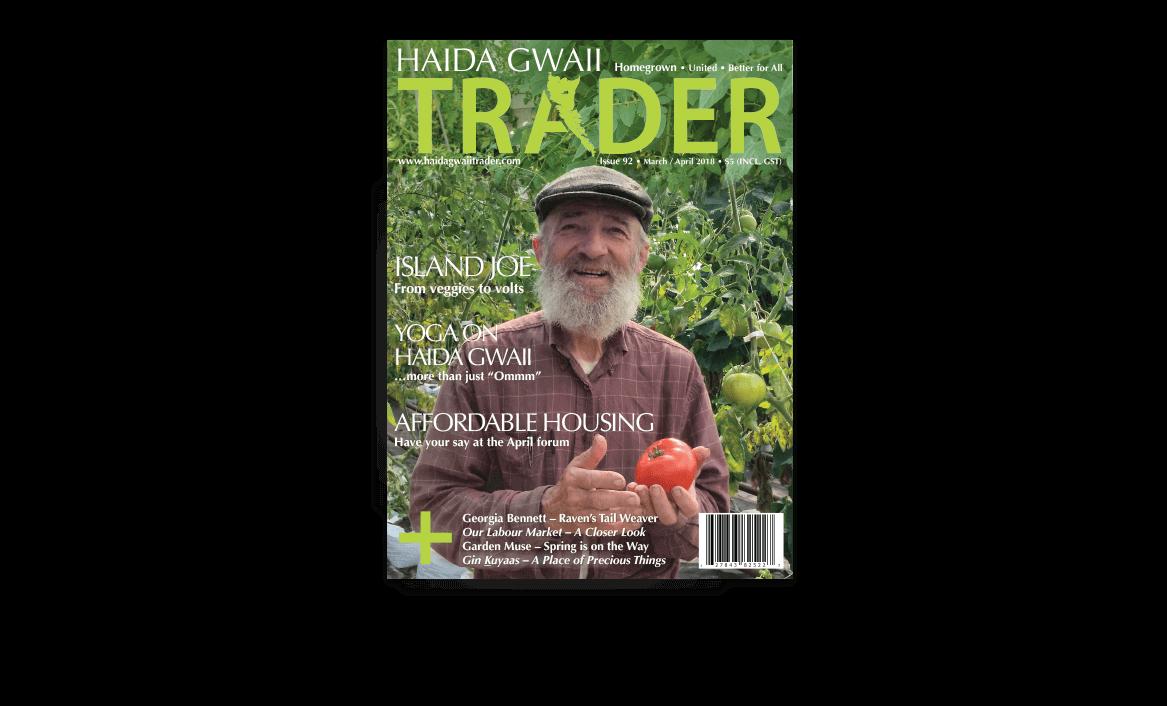 Haida Gwaii Trader Magazin