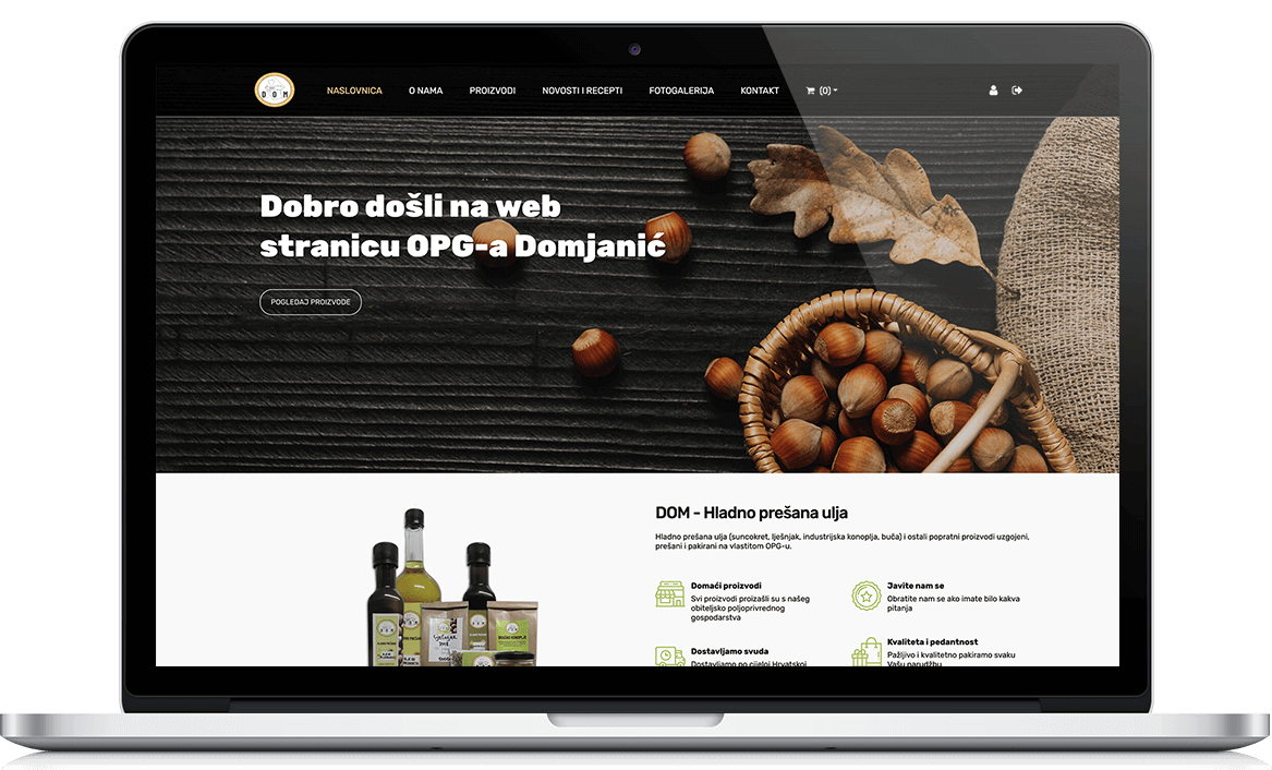 OPG Domjanić webshop