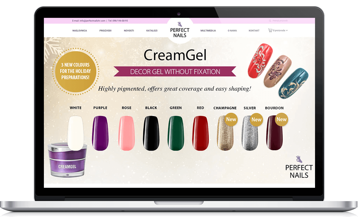 Perfect nails webshop